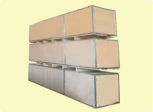 铝包边包装箱